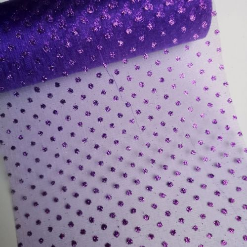 Sparkle Organza Purple  J 1 /08 10Y